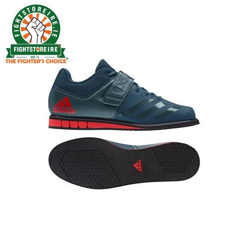 b4060f90c8b0 Adidas Mens Powerlift 3.1 Weightlifting Shoes – Petrol Green Red