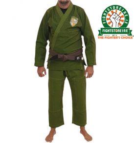 Booster PRO Shield BJJ Kimono - Olive Green