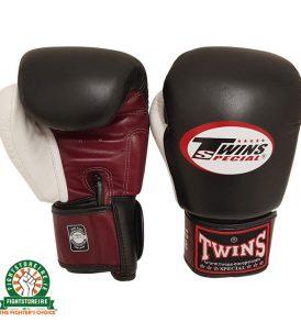 Twins BGVL4 Muay Thai Gloves - Red/Black/White