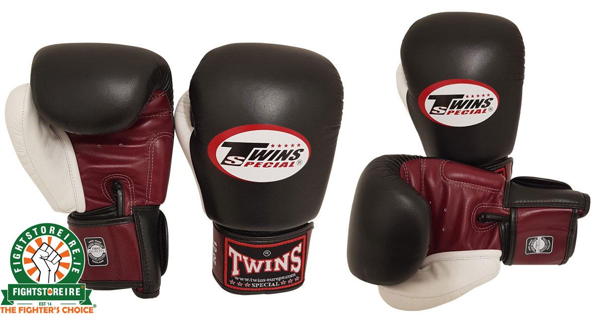 Twins BGVL4 Muay Thai Gloves - Red/Black/White | Fight Store IRELAND