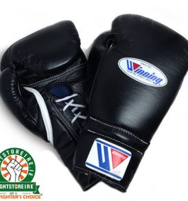 Winning 18oz Lace-Up Boxing Gloves - MS-700
