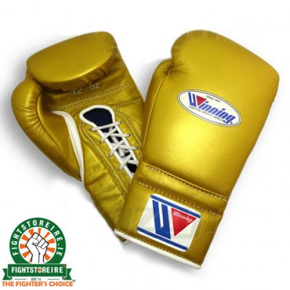 Winning 12oz Lace-Up Boxing Gloves - MS-400