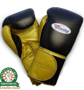 Winning 14oz Velcro Boxing Gloves - MS-500-2B