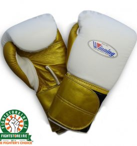 Winning 16oz Double Velcro Boxing Gloves - MS-600B2