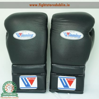 Winning 18oz Lace-Up Boxing Gloves | Fightstore IRELAND