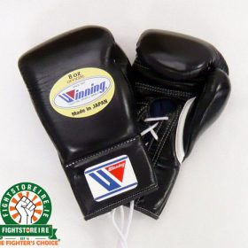 Winning 8oz Lace-Up Boxing Gloves - MS-200