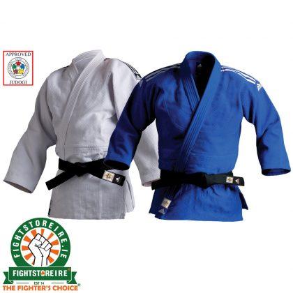 Adidas Champion II Slim Fit Judo Uniform - 750g - IJF Approved