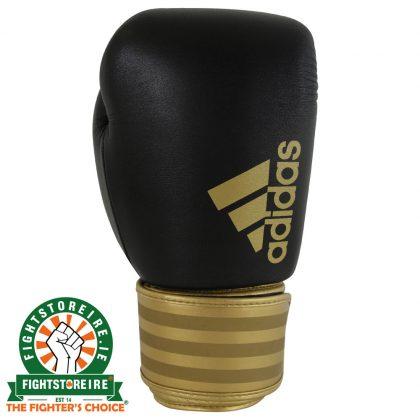 Adidas Hybrid 200 Boxing Gloves - Black/Gold