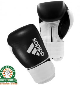 Adidas Hybrid 200 Boxing Gloves - Black/White