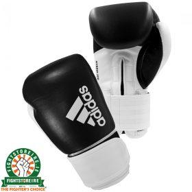Adidas Hybrid 200 Boxing Gloves - Black/White