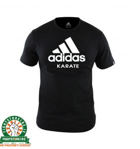 Adidas Karate T-Shirt - Black/White
