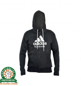 Adidas Karate Zip Hoody - Black