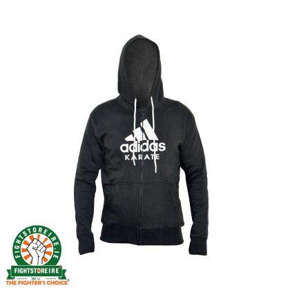 Adidas Karate Zip Hoody - Black
