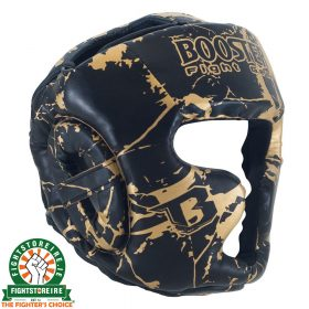 Booster Kids Marble Gold Headguard