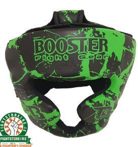 Booster Kids Marble Green Headguard