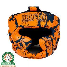 Booster Kids Marble Orange Headguard