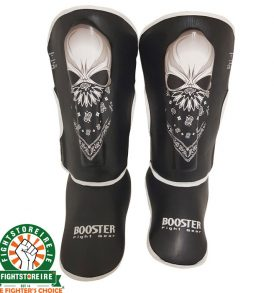 Booster Kids Skull Shinguards
