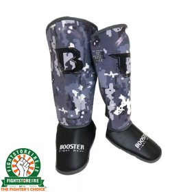 Booster Marble Camo Kids Shinguards
