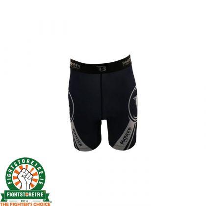 Booster Vale Tudo Combat Shorts - Black/Grey