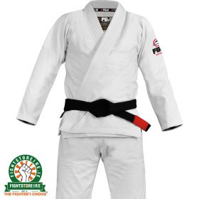 FUJI Sports Lightweight BJJ Gi - White