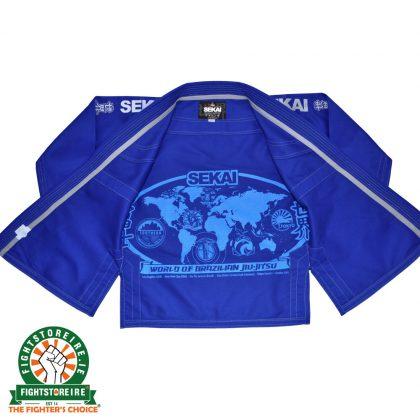 Fuji Sports Sekai BJJ Gi - Blue