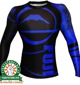 Fuji Sports IBJJF Ranked Rashguard Blue - Long Sleeve