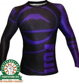 Fuji Sports IBJJF Ranked Rashguard Purple - Long Sleeve