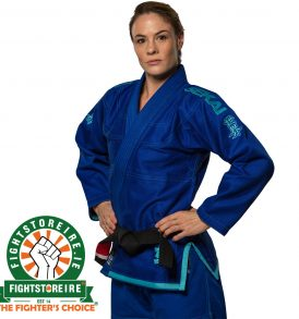 Fuji Sports Sekai Women's BJJ Gi - Blue