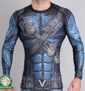Valor Assassin Rashguard - Blue