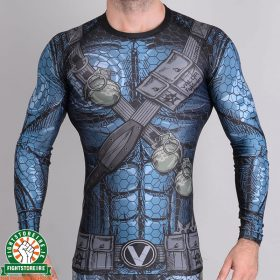 Valor Assassin Rashguard - Blue