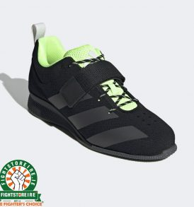 Adidas Adipower Weightlifting 2 Shoes - Black/Signal Green