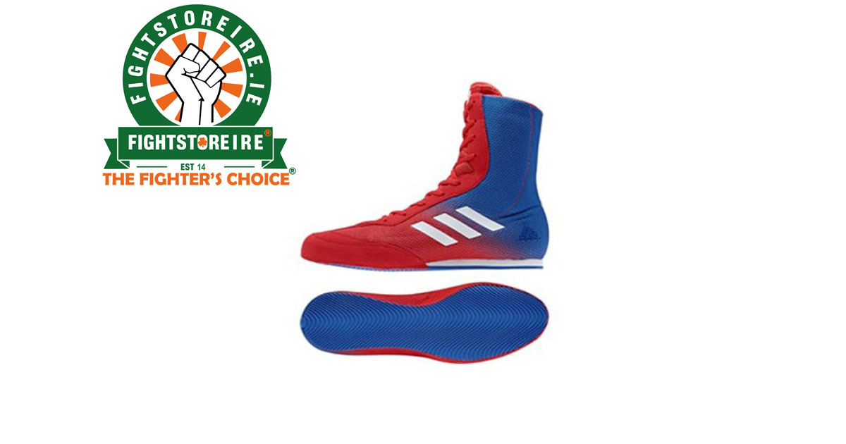 buy popular 2e419 89bd3 Adidas Box Hog Plus - RedBlue - Fight Store IRELAND