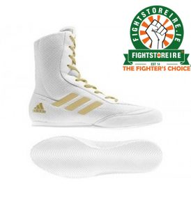 Adidas Box Hog Plus White/Gold