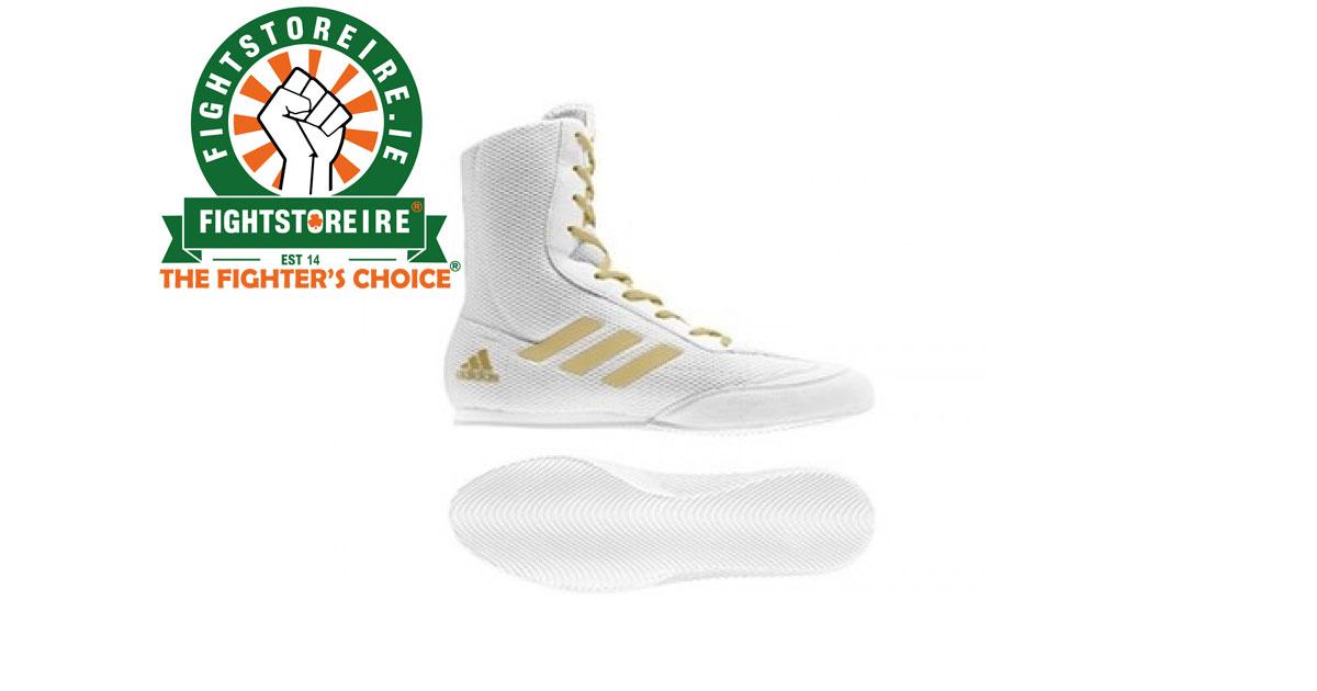 59a26266ccd Adidas Box Hog Plus White Gold - Fight Store IRELAND