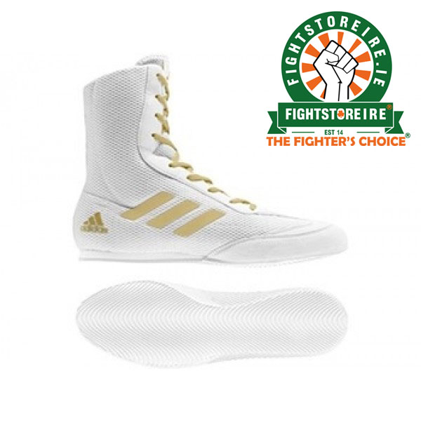 new products e83f6 edf3d Adidas Box Hog Plus WhiteGold - Fight Store IRELAND