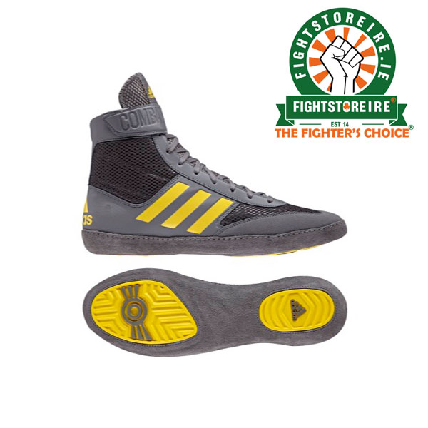4fde97a8b99 Adidas Combat Speed 5 - Grey Yellow - Fight Store IRELAND