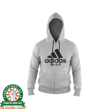 Adidas Judo Zip Hoody - Gray