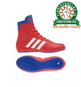 Adidas KO Legend 16.2 Kids Boxing Boots - Red/Blue