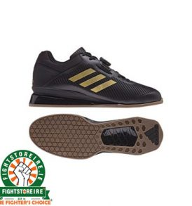 Adidas Leistung 16 II Weightlifting Shoes - Black/Gold