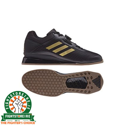 best service 70d05 75363 Adidas Leistung 16 II Weightlifting Shoes – Black Gold