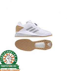 Adidas Leistung 16 II Weightlifting Shoes - White/Gold