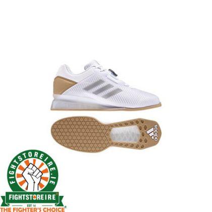 Adidas Leistung 16 II Weightlifting Shoes - White/Gold