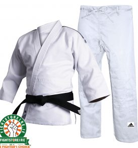 Adidas Contest Judo Uniform - White - 690g
