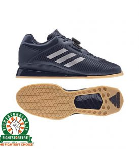Adidas Leistung 16 II Weightlifting Shoes - Blue/Silver