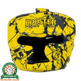 Booster Kids Marble Yellow Headguard