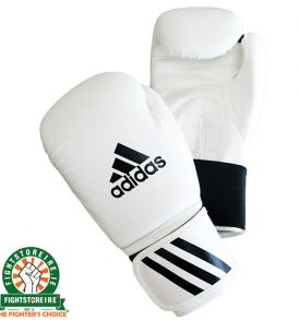 Adidas Speed 50 Boxing Gloves - White