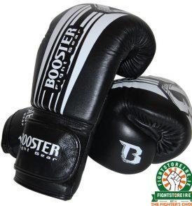 Booster V7 Boxing Gloves - Black/White