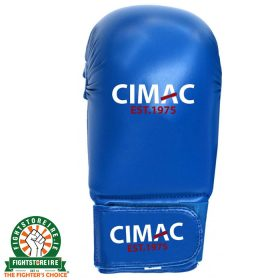 CIMAC Competition Karate Mitts - Blue