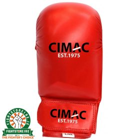 CIMAC Competition Karate Mitts - Red