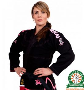 Fuji Sports Sekai Womens Black BJJ Gi